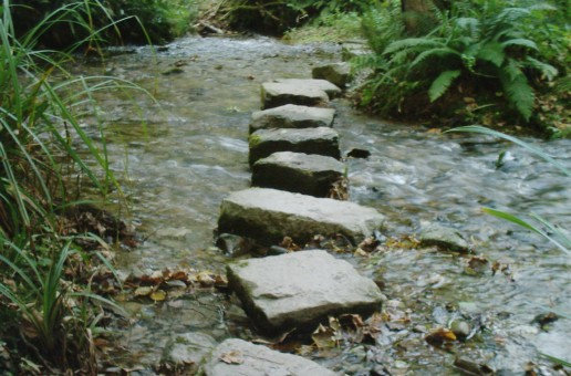 Stepping stones to a good story