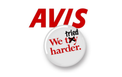 As of this year Avis is no longer trying harder – it's official